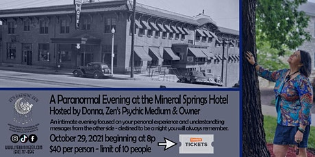 Paranormal Evening with Donna tickets