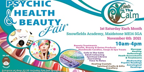 Psychic Health And Beauty Fair Maidstone tickets