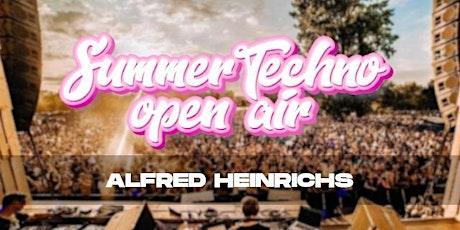 SUMMER TECHNO OPEN AIR || ALFRED HEINRICHS Tickets