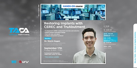 Restoring Implants with CEREC and TruAbutment tickets