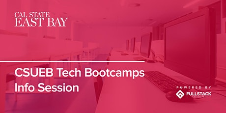 Online Info Session | Cal State East Bay Tech Bootcamps tickets