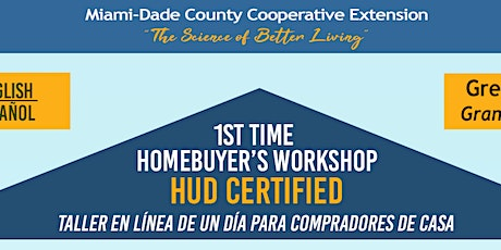 First Time Homebuyer Workshop (English One-Day) tickets