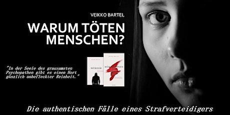 Mörderinnen & Mörder - Die Fälle eines Strafverteidigers Freising tickets