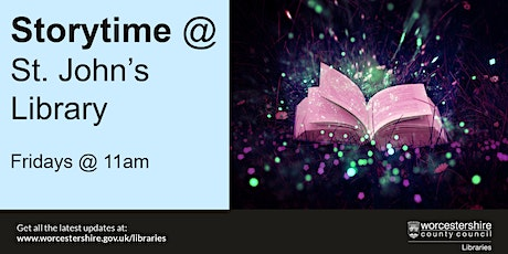 Storytime at St. John's Library tickets