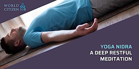 Yoga Nidra; a deep rest billets