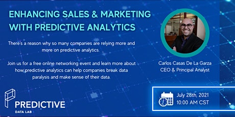 Enhancing Sales & Marketing with Predictive Analytics tickets