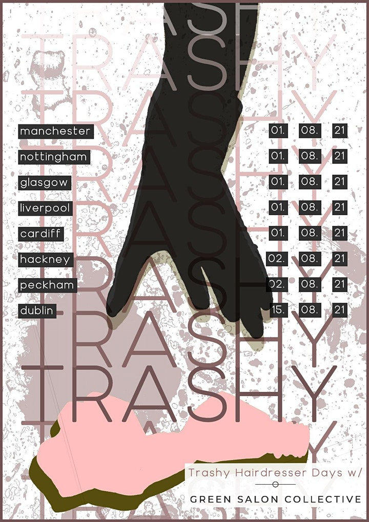 Trashy Hairdressers Day Hackney image