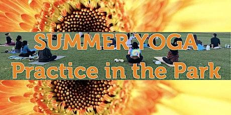 Summer Sundays Yoga Practice In the Park tickets