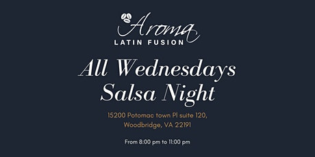 Salsa Night at Aroma Latin Fusion tickets