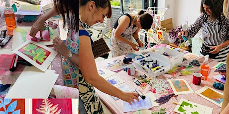 Art with Mollie Gel Printing Workshop for Adults (at Crafty Nolo) tickets