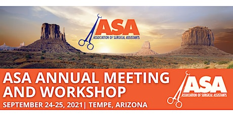 ASA Annual Meeting and Workshop tickets