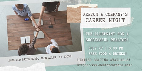 Career Night - The Blueprint for a Successful REALTOR tickets