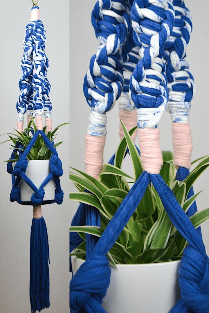 Make Your Own Macramé Hanger image