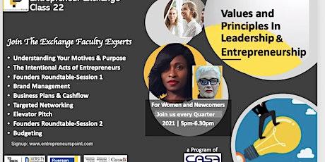 Entrepreneur Exchange (Women & Youths) billets