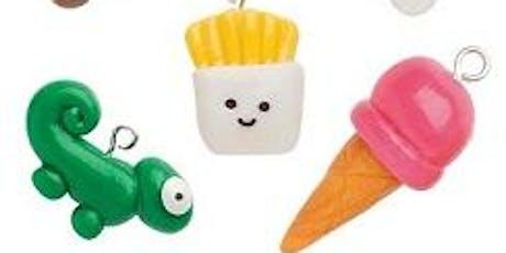 Kids Polymer Clay Charms/Beads Bracelet- Jewelry Class tickets