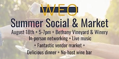WEO's Summer Social tickets
