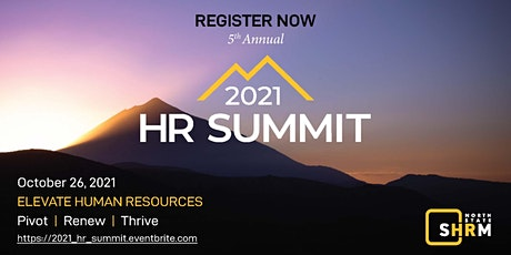 2021 SHRM HR SUMMIT tickets