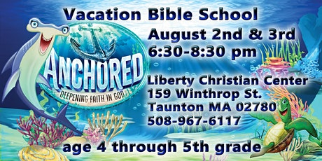 2 day Vacation Bible School. Games, stories, crafts, prizes & more. tickets