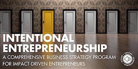 Intentional Entrepreneurship Program tickets