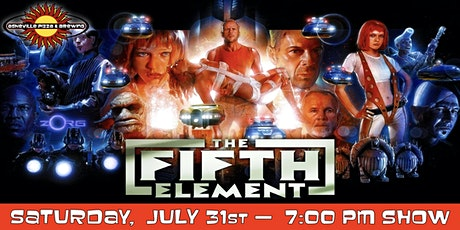 THE FIFTH ELEMENT -- Saturday, July 31 at 7:00pm tickets
