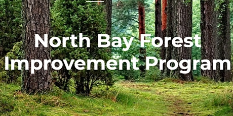 North Bay Forest Improvement Program Virtual Application Clinic tickets