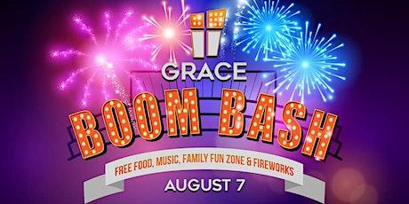 Grace Boom Bash tickets