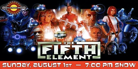 THE FIFTH ELEMENT -- Sunday, August 1 at 7:00pm tickets