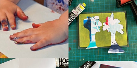 Art with Mollie Gel Printing Workshop for Children (at Crafty Nolo) tickets