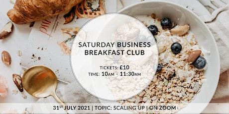 Saturday Business Breakfast Club tickets