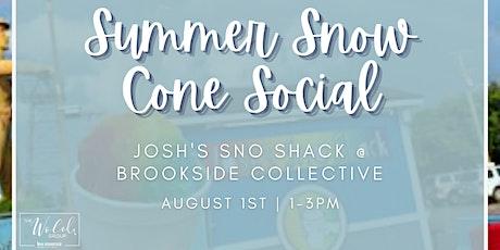 Summer Snow Cone Social! tickets