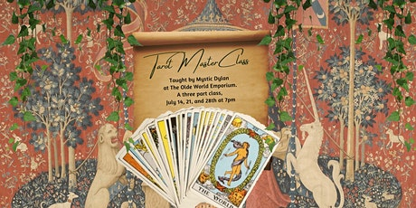 Tarot Masterclass tickets