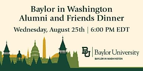 Baylor in Washington Alumni and Friends Dinner tickets