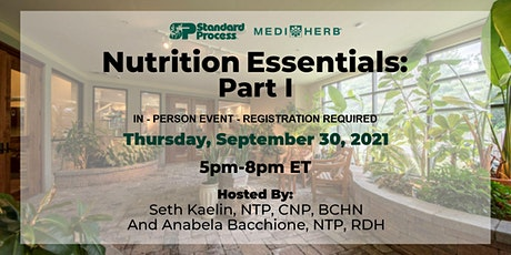 Nutrition Essentials: Part I - With Seth and Anabela tickets