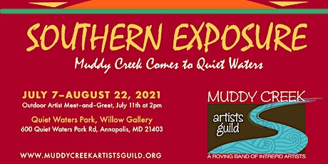 """Muddy Creek Artists Guild's """"Southern Exposure"""" Exhibition tickets"""