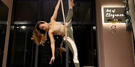 Art of Elegance X Sweaty Betty | Aerial Hammock Beginner Spin Class tickets