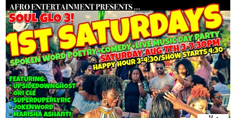 SOUL GLO 3! 1ST SATURDAYS DAY PARTY tickets