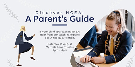 Discover NCEA: A Parent's Guide tickets