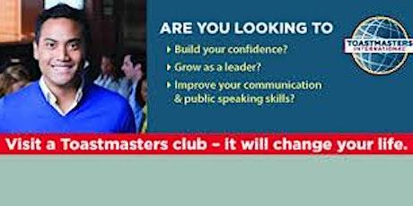 Improve your Public Speaking with Farmington Speakeasy Toastmasters tickets