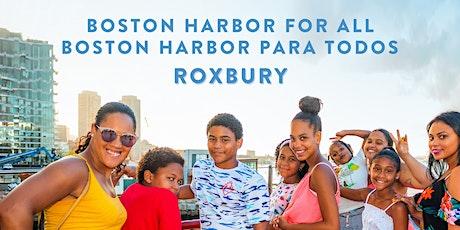 Boston Harbor for All: Roxbury Community Cruise tickets