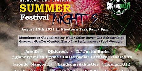 Summer Nights Festival tickets