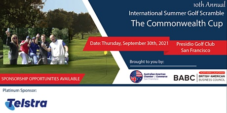 10th Annual International Golf Scramble - AACC and BABC Northern California tickets