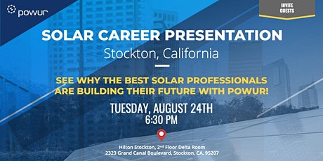 Stockton Solar Career Presentation tickets