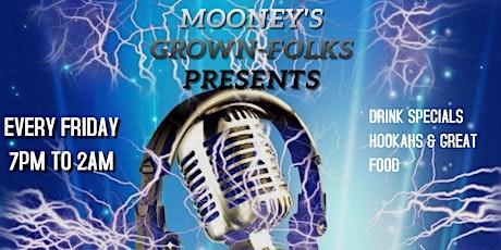KARAOKE NIGHT!! @Mooneys Lounge tickets