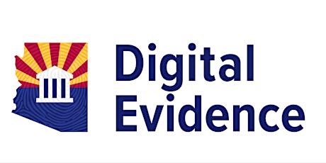Arizona Digital Evidence Training tickets