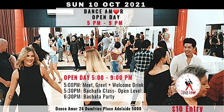 Bachata Class & Dance Party- Amor Open Day 10 Oct tickets