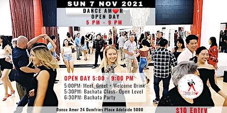 Bachata Class & Party - Dance Amor Open Day 7 NOV tickets