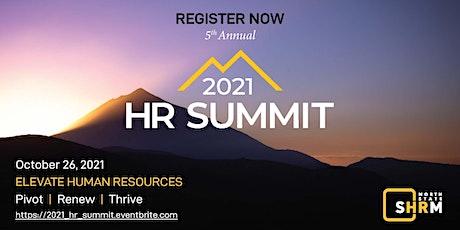 2021 HR SUMMIT SPONSORSHIPS tickets