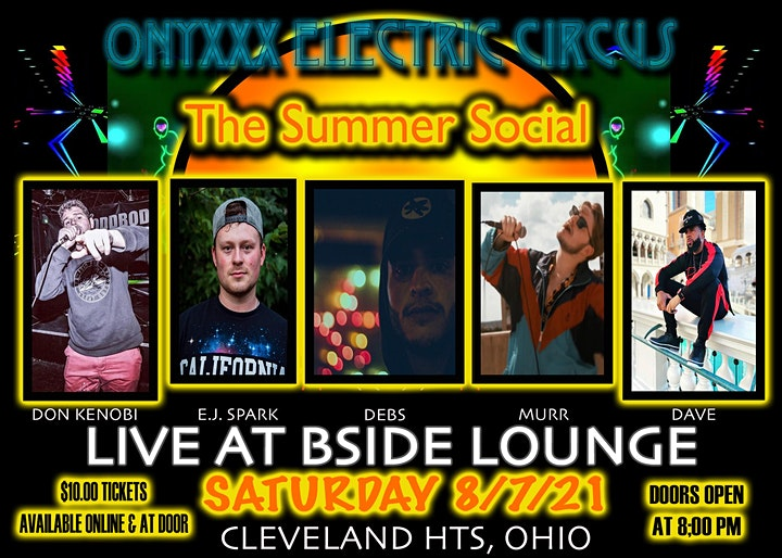 Onyxxx Electric Circus: The Summer Social image