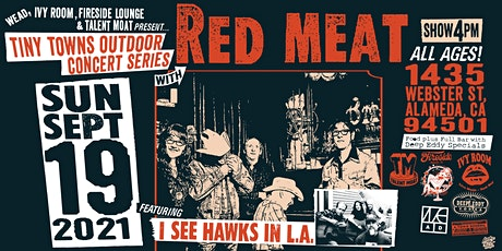Red Meat, I See Hawks In L.A. tickets