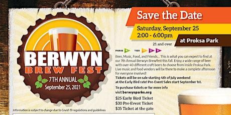 Berwyn Brewfest 2021 tickets